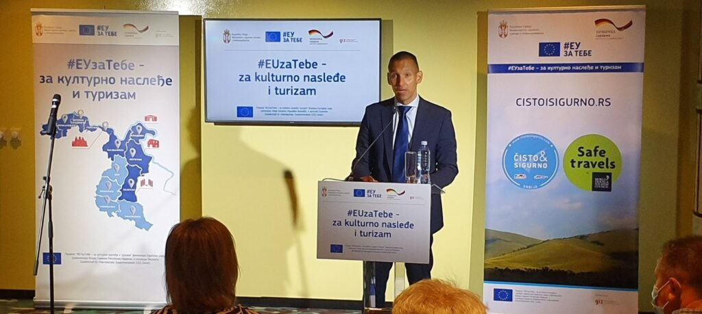 Aleksandar Bec, EUzaTebe – za kulturno nasleđe i turizam